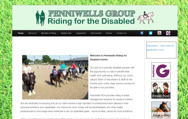 Penniwells Riding For The Disabled