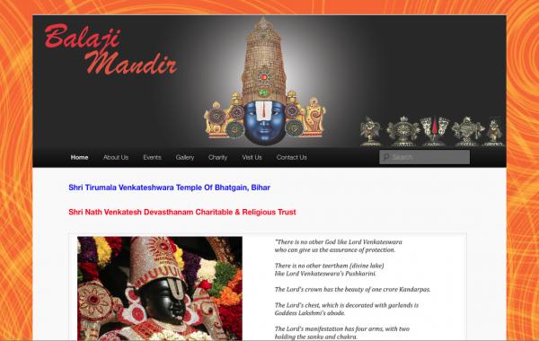 Balaji Mandir Org